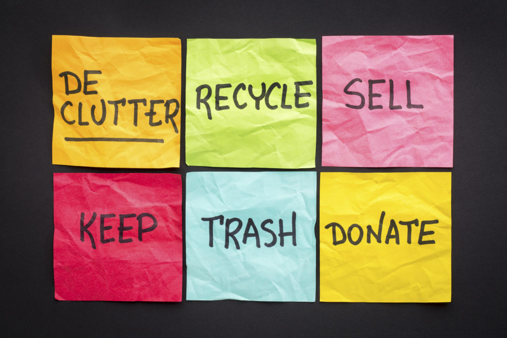How to Keep your House Decluttered in 2 Easy Steps